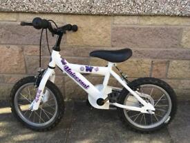 """Girls Bike 14"""""""