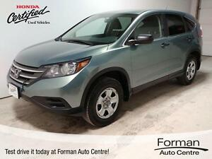 2012 Honda CR-V LX - Honda Certified | Warranty