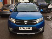 Quick Sale 2014 Dacia Sandero Stepway Laureate Tce Eco0.9 (898cc)petrl 14000mile 1Yr Mot Navi Manual