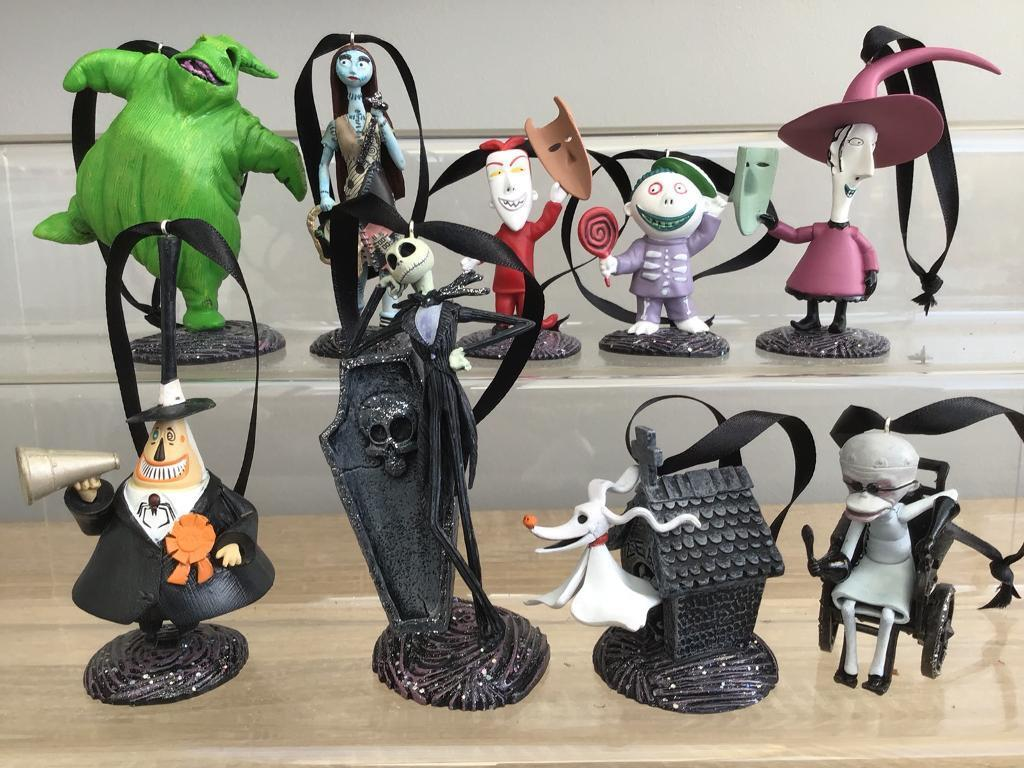 Disney Christmas tree decorations the nightmare before Christmas ...