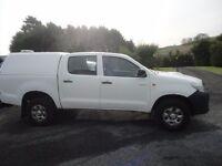 2013 Toyota Hilux. SERVICE HISTORY