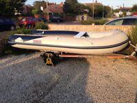 RIB boat Honda Marina 4.2 meter for sale