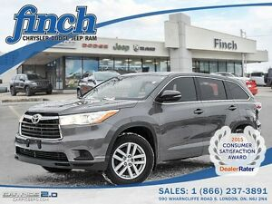 2014 Toyota Highlander***B-up Cam, 47K Only,Mint***