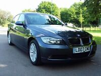 2007 BMW 320D 6 SPEED MANUAL DIESEL FULL SERVICE HISTORY 10 Months Mot Hpi Clear