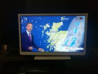 """Toshiba 32"""" LED HD TV, FreeView and DVD player builtin"""
