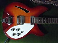 Indie IRK5 semi-acoustic Guitar