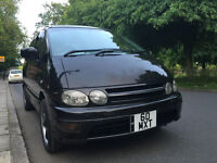 Toyota Estima Lucida Previa Import Black 8 Seater Full factory fitted Leather