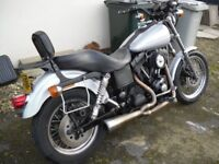 fxdx sport i very nice clean condition, ideally looking to swap for a softail evo or twincam or sell