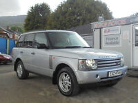 2002 RANGE ROVER VOGUE AUTOMATIC,,TV,SAT/NAV,FULLY LOADED 3 litre turbo diesel BMW engine