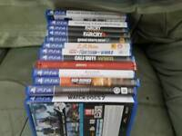 PS4 Games joblot