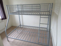 BUNK BED Frame. Single over double.
