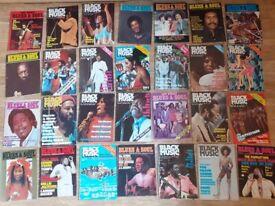 65 x blues & soul / black music vintage mags
