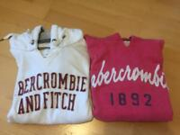 2 Abercrombie and Fitch women's hoodies