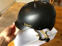 Black and Gold Bern Bike Helmet – Size S