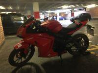 Lexmoto HAWK 125 Red