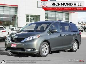 2014 Toyota Sienna LE  Heated Seats| Backup Camera| Bluetooth