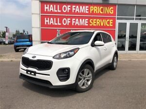 2017 Kia Sportage LX- Backup Cam, Heated Seats, Power Groups, Bl