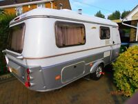 Eriba Troll 555 Touring 2005.Fixed bed.
