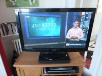 42 inch Panasonic Plasma TV and sound bar