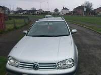 Volkswagen golf estate 1.9 tdi for svrap or parts