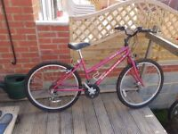 Ladies Raleigh Bicycle Excellent condition