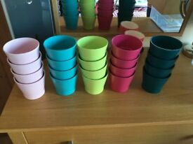 20 x Ikea Papaja 9 cm plant pots. Used once at our wedding as centrepieces.