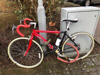 Falcon Red Road Bike, Refurbished With New Parts