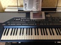 Korg PA800 Professional Arranger Keyboard - ltd edition Elite 80gb internal hard drive