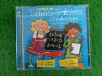 Maths is Fun. Brand New Times Tables Challenge Double CD.
