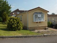 Residential Park Home/ Chalet For Rent on Quiet Semi Retirement Park Near Gloucester for over 50's