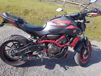 Yamaha Motocage Mt-07