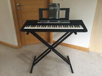 Yamaha Digital Keyboard YPT-200 and stand - new