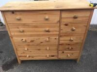Chest of draws free delivery