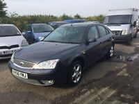 2006 56 REG FORD MONDEO EDGE MODEL IN LOVELY GREY CLOTH TRIM SOME HISTORY YRS mot drives really well