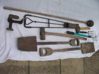Job Lot of 9 Various Old Tools ~ All Still Useable ~ See Photo's For Condition