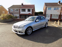 Mercedes-Benz C200 CDI Sport Blue Efficiency