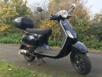 2007 Piaggio Vespa LX50 2 Stroke Scooter Great condition ideal first bike