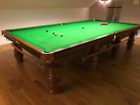 SNOOKER TABLE (FULL SIZE)