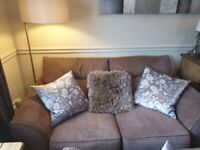 Immac cond 2 and 3 seater harvey sofa