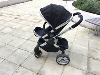 Used Black iCandy Peach Stroller for 6+ months