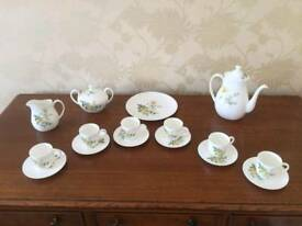 Wedgewood Golden Glory Coffee Set