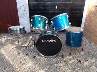Dragon 5-piece drumkit