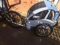2in1 child bike trailer/jogger/stroller