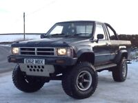 TOYOTA HILUX SINGLE CAB (S/C) 4X4 2.5 DIESEL MANUAL BLACK ** ONE OF A KIND!! + REAL EYE CATCHER!! *