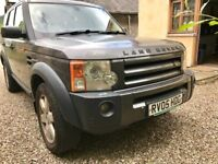 Land Rover Discovery 3 HSE 2005 Bonatti Grey LOW MILEAGE F.S.H