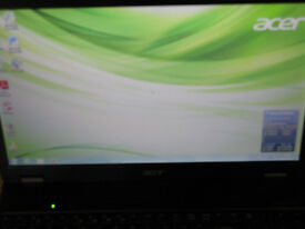"Acer 15.6"" writers laptop, Genuine new windows 7, plus all the software you need"