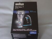 Braun 790cc series 7 shaver brand new sealed box.
