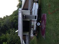 2011 10 foot Rockwood tent trailer