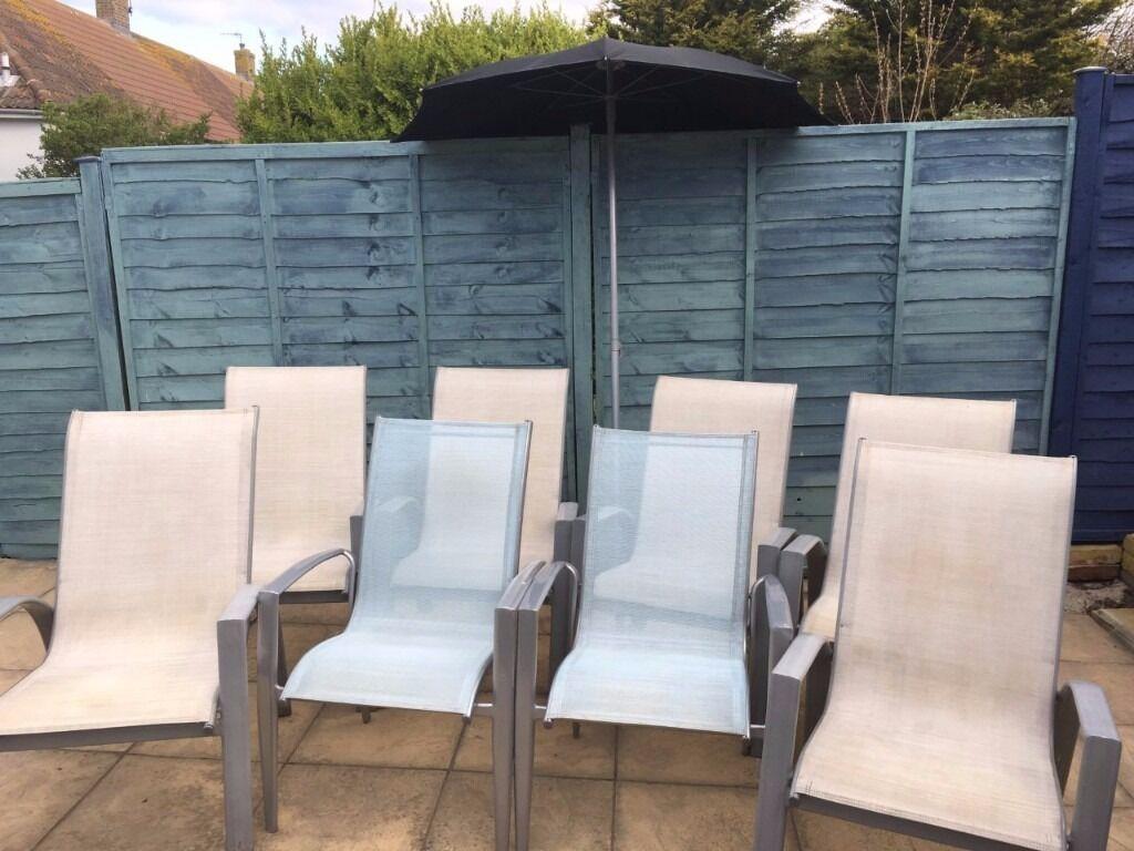 Sicily Garden Furniture 8 sicily garden chairs 1 garden parasol in brighton east sussex 8 sicily garden chairs 1 garden parasol workwithnaturefo