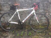 Carerra 7005 T6 road Bike, 49cm. Aluminium frame